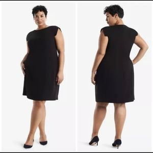 MM Lafleur The Sarah Dress Plus Size Black Classic
